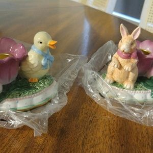 Springtime candle holders